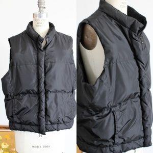 Gap Quilted Down Puffer Vest, SZ XL, Fleece Lined
